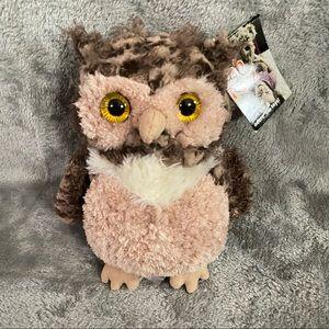 "Mary Meyer 7"" Fab Fuzz Owl Plush Stuffed Animal"